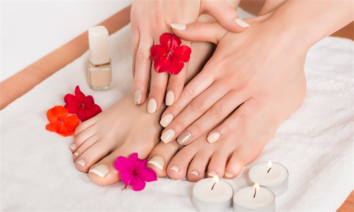 Manicure and/or Pedicure with Gelish at Manaleng Nail Studio