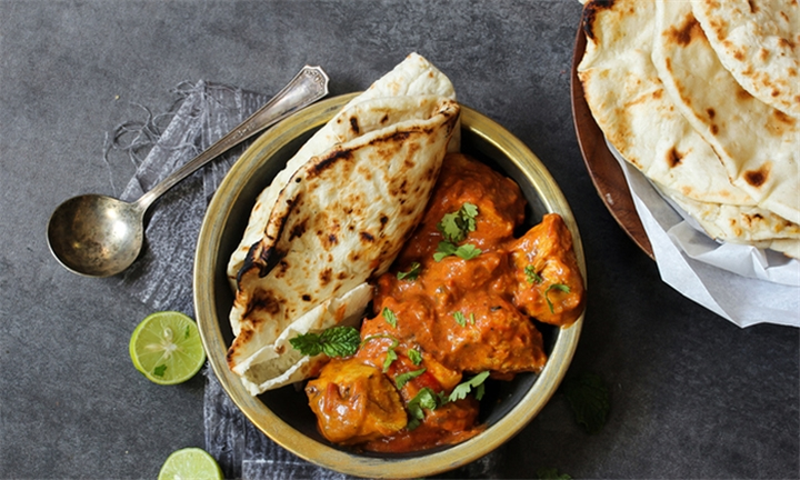 Choice of Chicken or Vegetable Main Meal for up to Four at Taste of India - Bryanston