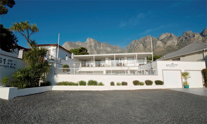 Cape Town: 1 or 2-Night Anytime Stay for Two Including Breakfast at 61 on Camps Bay