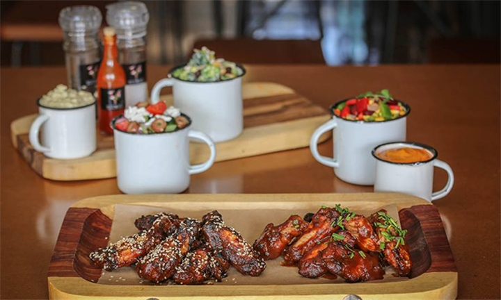 Chicken Wing Platter and Dip for Two at Have Wings