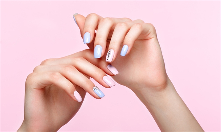 Natural Gelish Hands & Toes Application Including Hands and Feet Massage at Glamour By Zahra
