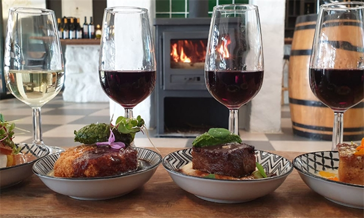 Gourmet Food & Wine Pairing for Two at Haskell Vineyards