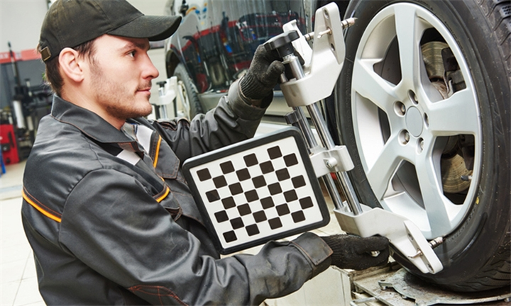 Wheel Alignment with Optional Services for One or Two Cars at SupaQuick Germiston
