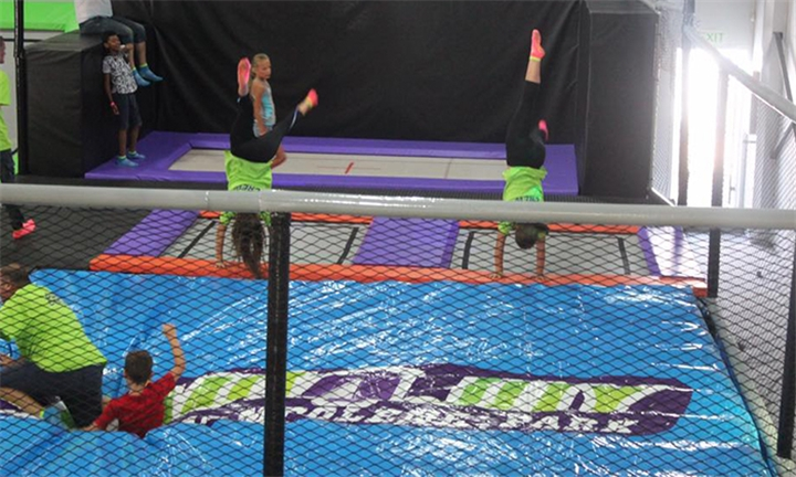 1-Hour Open Jump Session for Two at Jump4Joy Somerset West