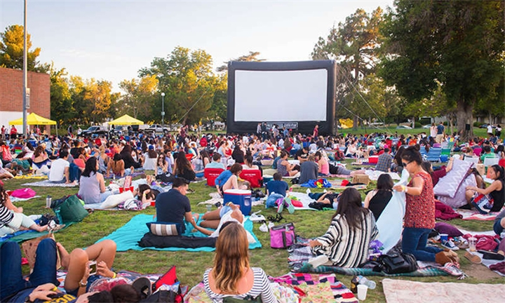 Tickets to Movie Night Under The Moon for up to Four