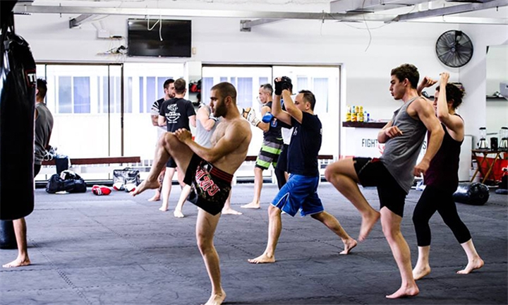 1-Month Unlimited Classes for Two at Fight Sports Centre