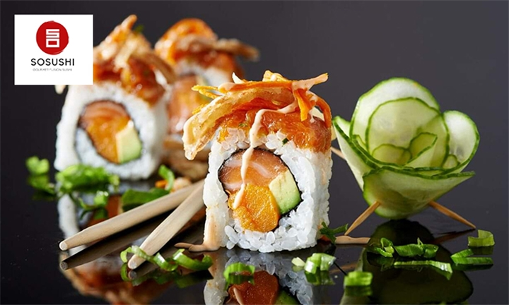 22-Piece Sushi Platter for One at Sosushi