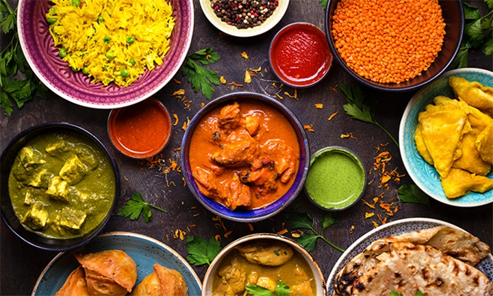 Choice of Any 2-Course Meal with a Beverage for up to Six at Great Indian Curries