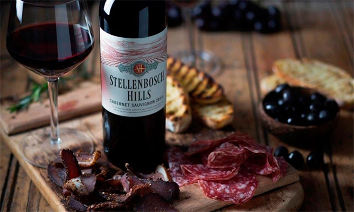 Wine and Biltong Pairing For Up To Four People At Stellenbosch Hills