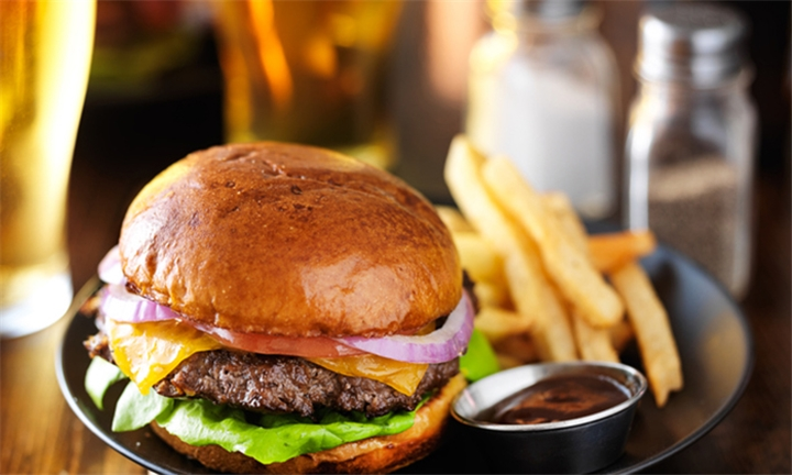 Lunchtime Special: Choice of Burger each for up to Four at Kitcheners Carvery Bar