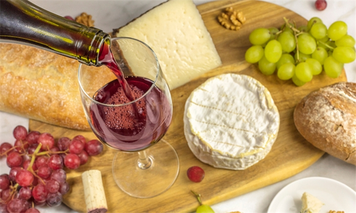 Wine Tasting with Cheese & Savoury Pairing for up to Four at The Rockwell Cellars