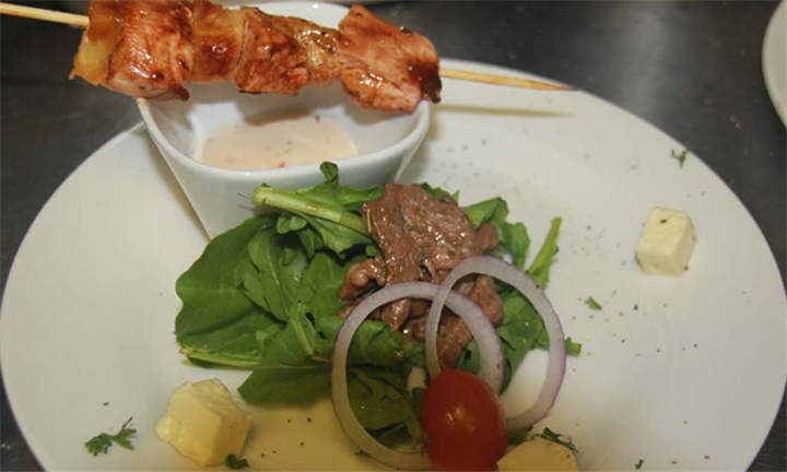 Choice of So Filling Dishes each for up to Four at So Café Rooftop Lounge