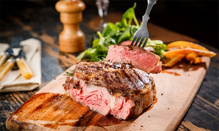300g Fillet or Rump Steak with Sides each for Two at Top Shots