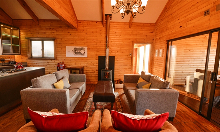 Mpumalanga: 2-Night Self-Catering Stay for up to Four in Serengeti Cabins at Spring Valley Retreat