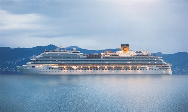 Luxury Cruise, December 2019: 7-Night United Arab Emirates, Oman Cruise for Two Aboard the Costa Diadema