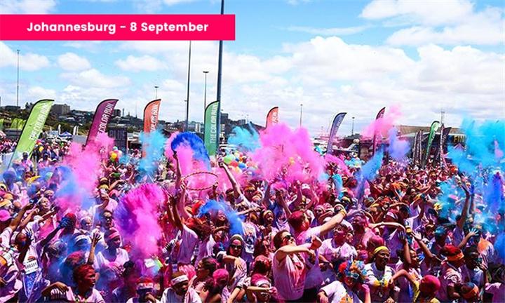 Ticket for the Color Run Johannesburg – 8 September 2019