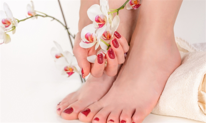 Manicure or Pedicure with Hand or Foot Massage or Head, Neck & Back Massage Including Reflexology at Rose Day Spa