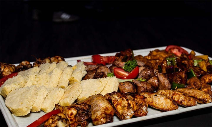 Meat Platter for Two at So Café Rooftop Lounge