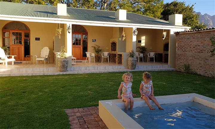 Western Cape: 1 or 2 Nights Anytime Stay for Two at Franschoek Farm Cottages