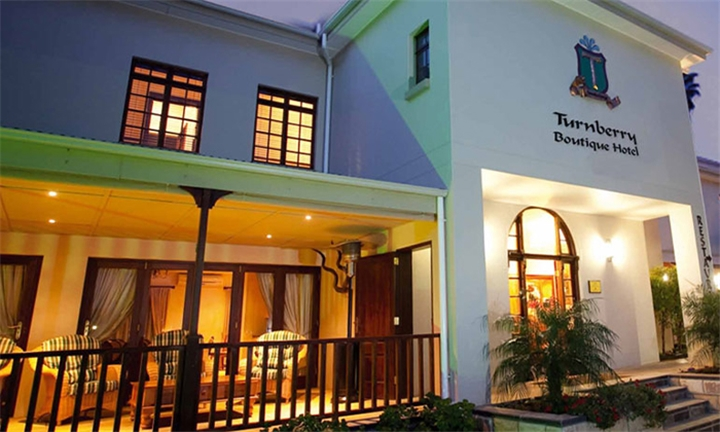 Klein Karoo: 1-Night Anytime Stay for Two Including Breakfast at Turnberry Boutique Hotel