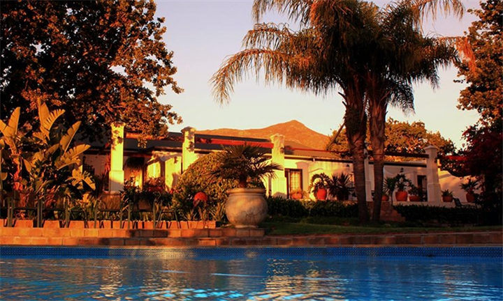 Cape Winelands: 1 or 2-Night Anytime Stay for Two Including Breakfast at Le Manoir de Brendel