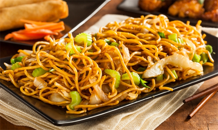 Choice of Chow Mein Noodles for Two at Risushi