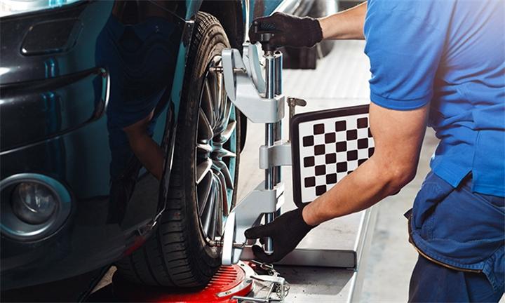 3D Wheel Alignment and Wheel Balancing for One Car at Tyremart Randburg