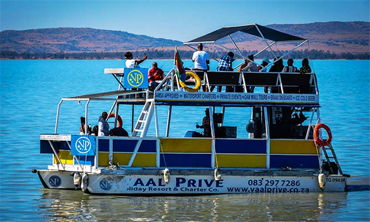 3-Hour Boat Cruise for Two at Vaal Prive Cruise