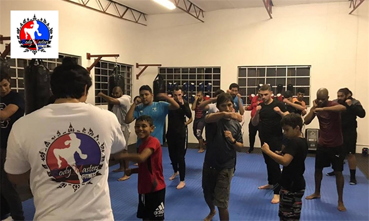 1-Month Kickboxing Classes for Kids or Adults at Body Masters Fitness