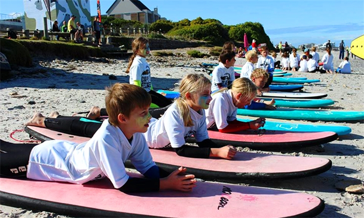90-Min Surfing Lessons for up to Three at Cape Town Surf School
