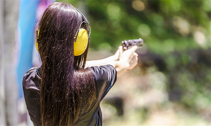 Ultimate Shooting Experience with Beverage for Two at False Bay Firearm Training Academy