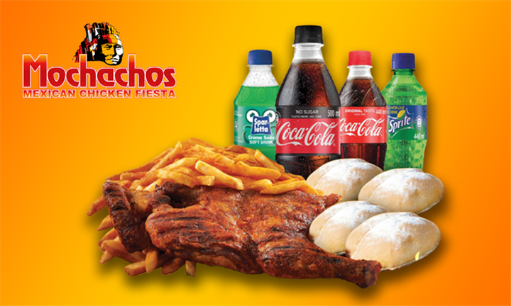 Family Fiesta to Share Including 4 x Buddy Cold Drinks at Mochachos, Nationally
