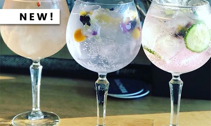 Choice of 2 x Variety Gin and Tonic Drinks each for up to Four at Tonic Lounge