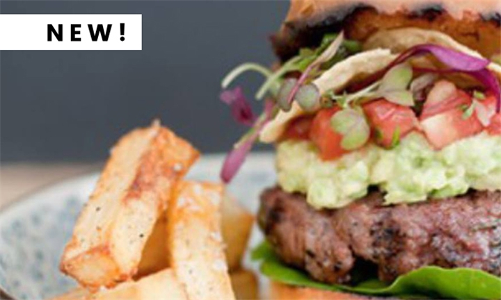 Choice of Burger each for Two Including 10% off your First Cocktail at Tonic Lounge