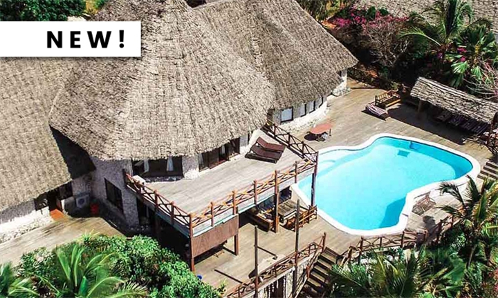 Zanzibar: 4 or 7-Night Stay for up to Six Including Breakfast, Dinner and Airport Transfers at Zi Villa