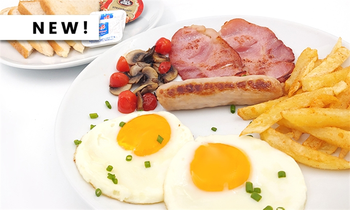 Choice of Breakfast for Two at Papaz Bistro
