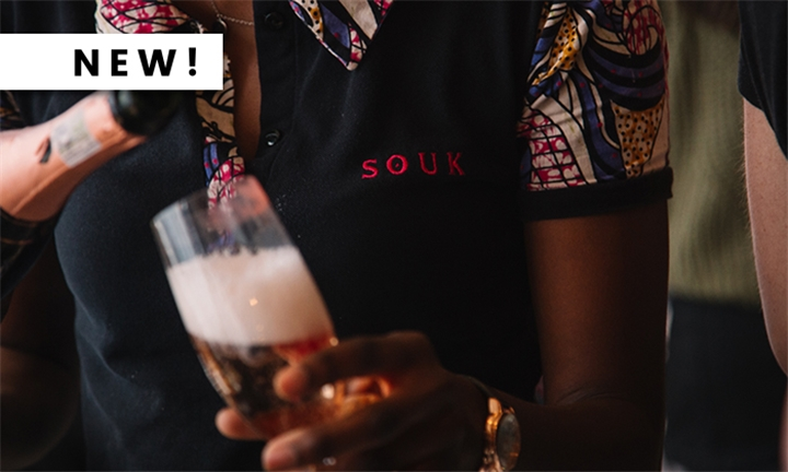 Saturday Exclusive: Bottomless Pongracz Bubbly Including a Royale Platter to Share for Four at SOUK, Cape Town