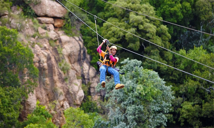 Magaliesberg Canopy Tour for One or Two
