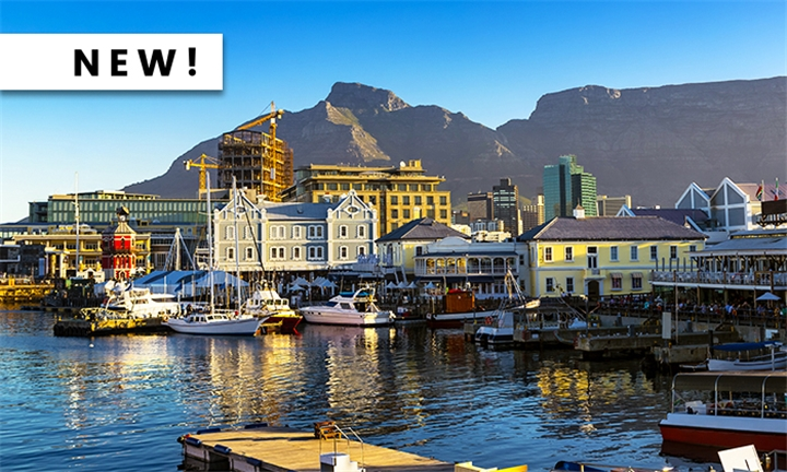 Cape Town: 2-Night Anytime Stay for Two with 702 Canal Quays