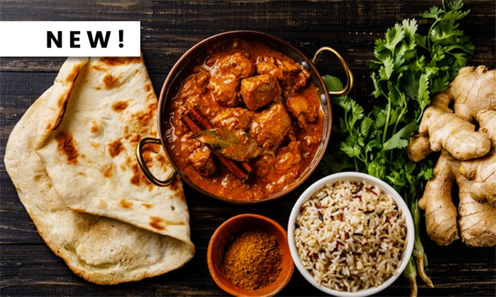 Exclusive Weekend Buffet for Two at Indique Indian Restaurant