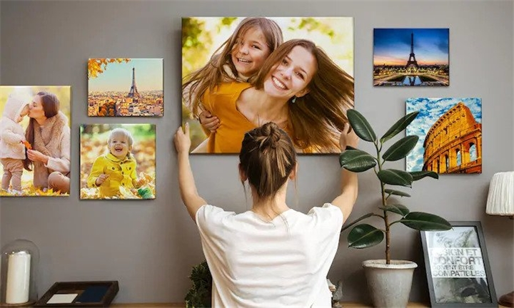 Assorted Sized Canvas Prints from Mojo Printing