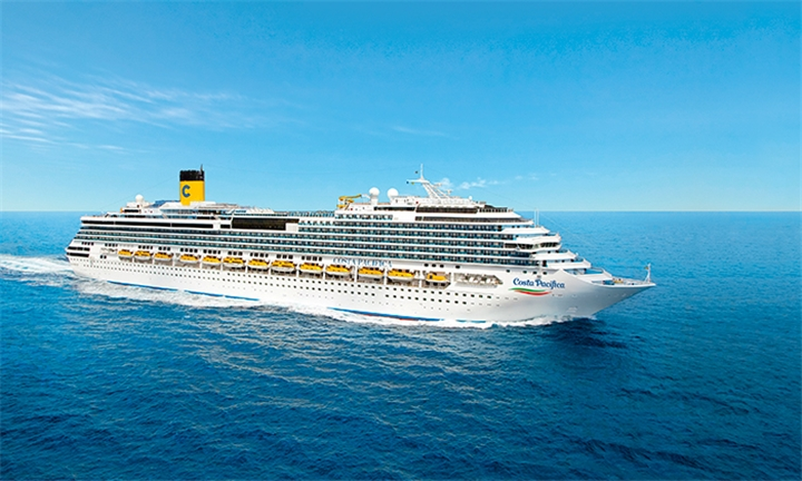 Luxury Cruise: 7-Night Italy, Spain, Balearic Islands, Italy Cruise for Two Aboard the Costa Pacifica