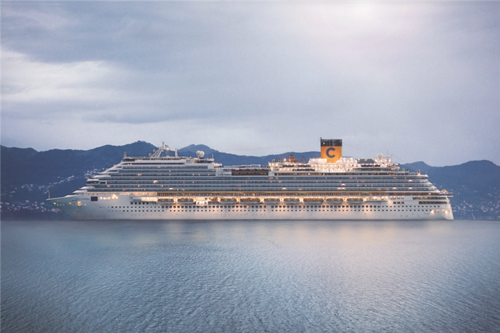 Luxury Cruise: 7-Night Italy, Balearic Islands, Spain, France Cruise for Two Aboard the Costa Diadema