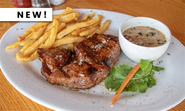 Al Capone 250g Flame-Grilled Rump Steak or Grilled Lemon-Butter Fish with Sides for Six at Chicago's Piano Bar Fourways