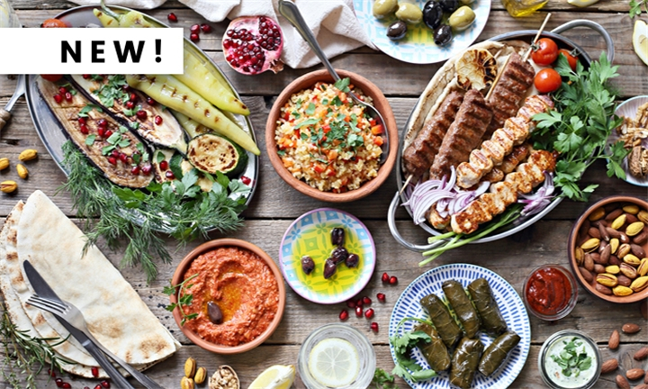 Meze Platter to Share for up to Six at Exhibit
