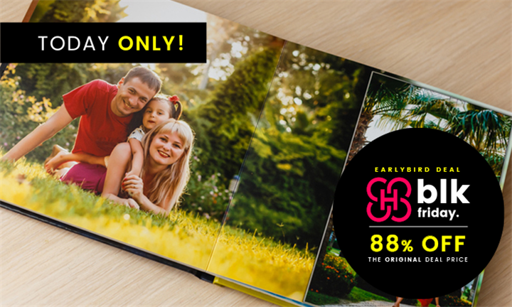 4 x Personalised A4 Photobooks Including Delivery from TTL Photobooks