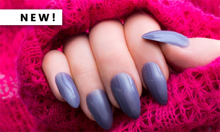 Full Set of Colour Acrylic Nails Including 2-Week Fill from The Nail Factor
