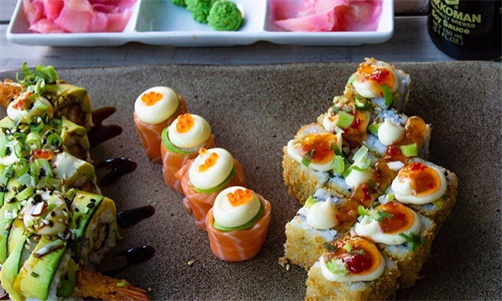 26-Piece Sushi Platter from Active Sushi on Bree