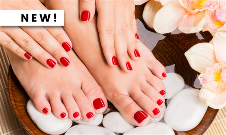 Choice of Manicure &/or Pedicure with Gel from MaemoHair