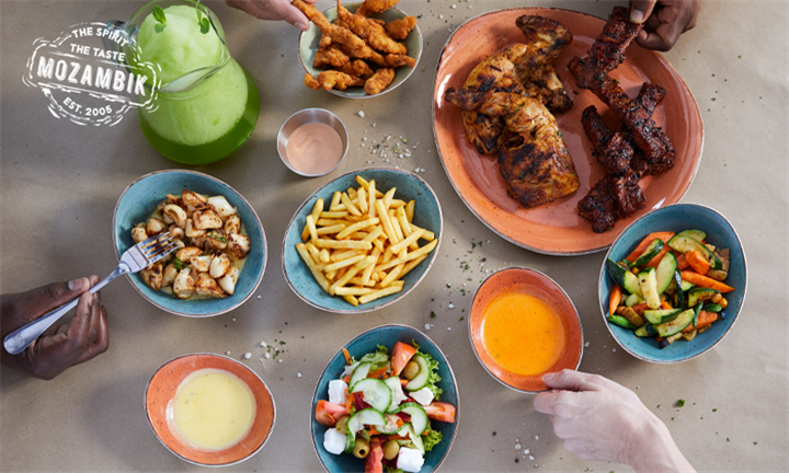 Mozambik Family Feast to Share at Mozambik, V&A Waterfront